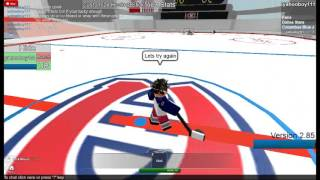 Roblox: HHCL Tricks to the new goalies.