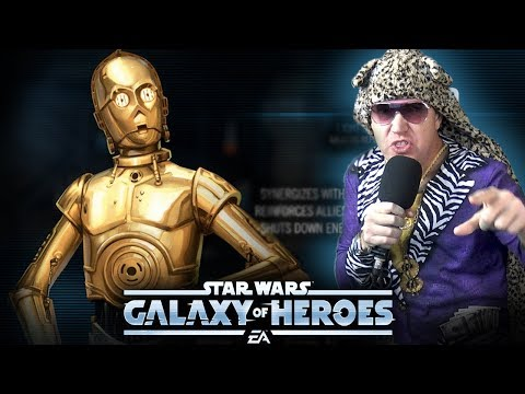 C3PO Kit Reveal - 5 UNIQUES - Star Wars: Galaxy Of Heroes - SWGOH