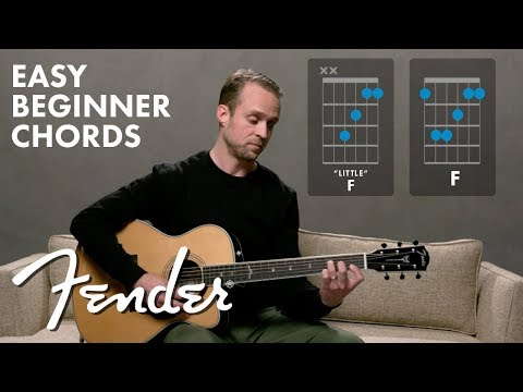 How To Master The F Chord | Fender Play™ | Fender