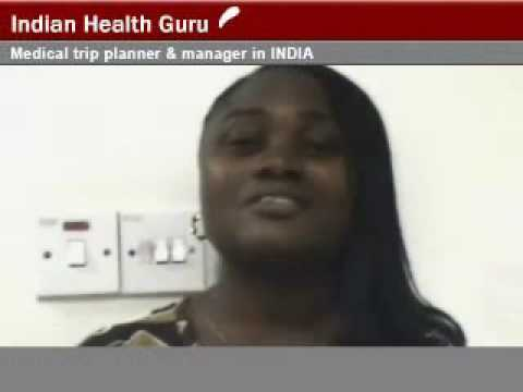 Appraisal from Nigerian Citizen for Health Treatment in India at Delhi