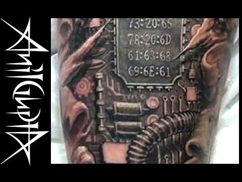 Anil Gupta Tattoo Biomechanical 0101.mov - Познавательные и прикольные видеоролики