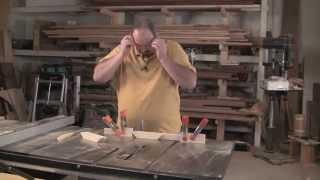 Shaker Stool - Perfectly Cut Braces