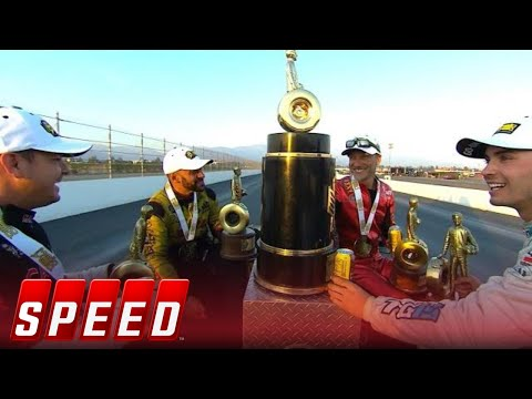 All four champions take pro class wins at the Auto Club NHRA Finals | 2018 NHRA DRAG RACING