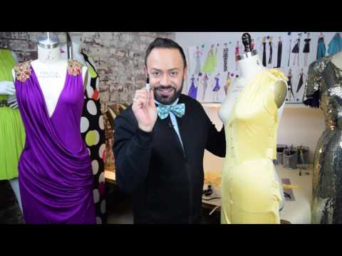 Draping A Couture Wrap Dress