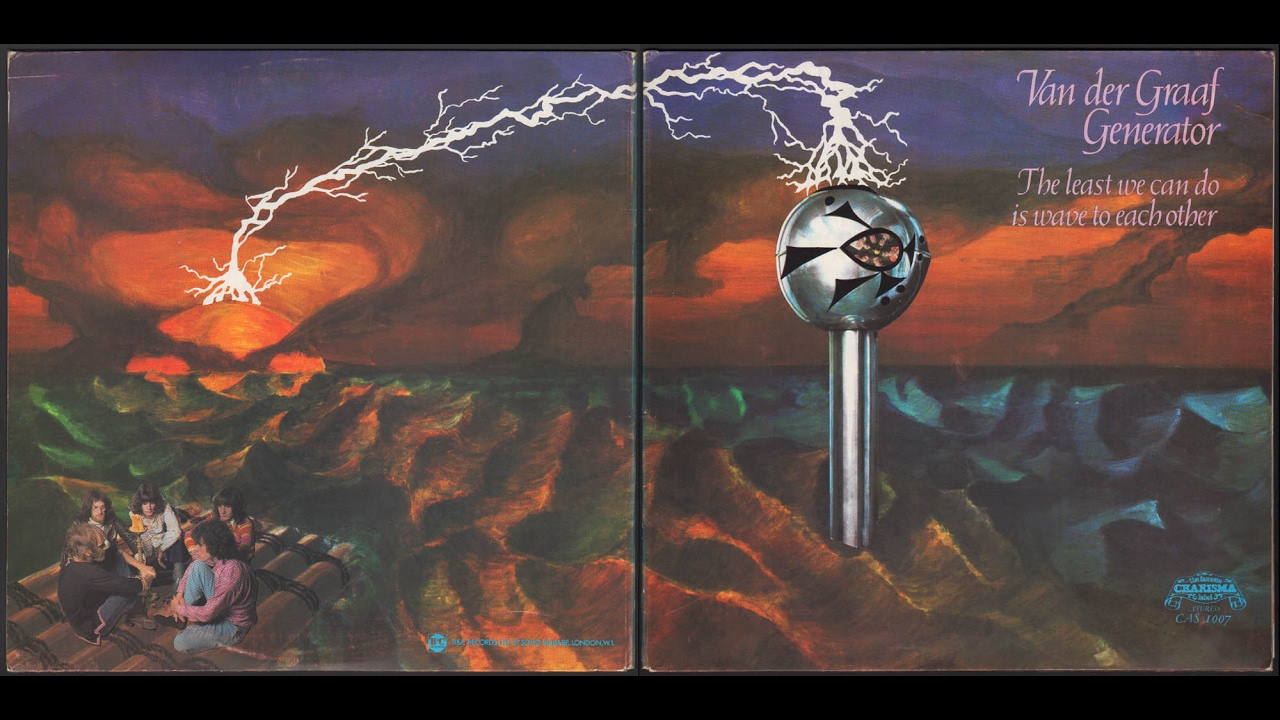 Van Der Graaf Generator - The Least We Can Do Is Wave To Each Other  1970  Full Album