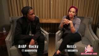 A$AP Rocky Talks Instrumental Album, Rihanna & Chanel Iman, Andre 3000 and Hints at Rock the Bells