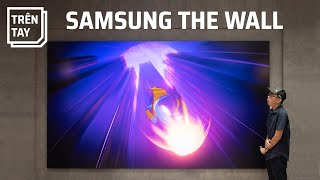 Samsung TV The Wall - 8 tỷ cho TV146 inch MicroLED