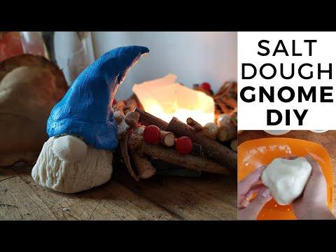 Scandinavian Gnome DIY Christmas Home Decor tutorial