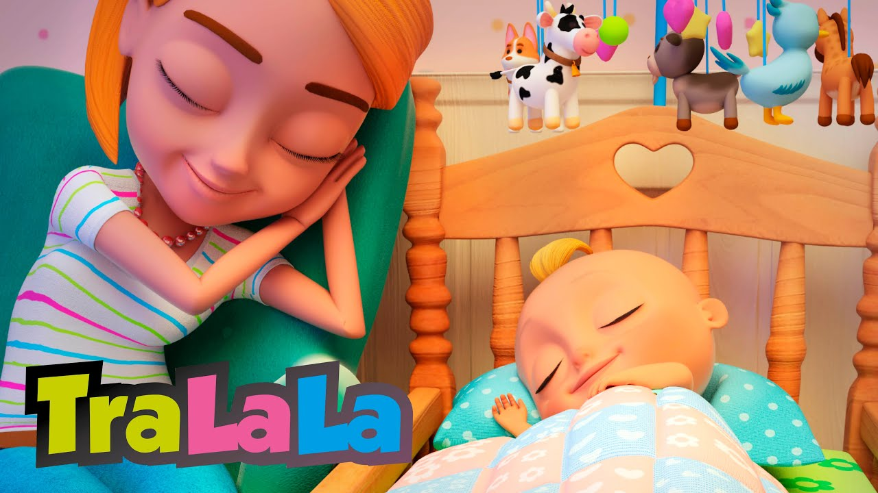 Cântecel de nani  -  Cântece de leagăn pentru copilași TraLaLa