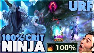 FOUNTAIN PENTAKILL | CLOSEST GAME EVER | 100% CRIT SHEN - BunnyFuFuu