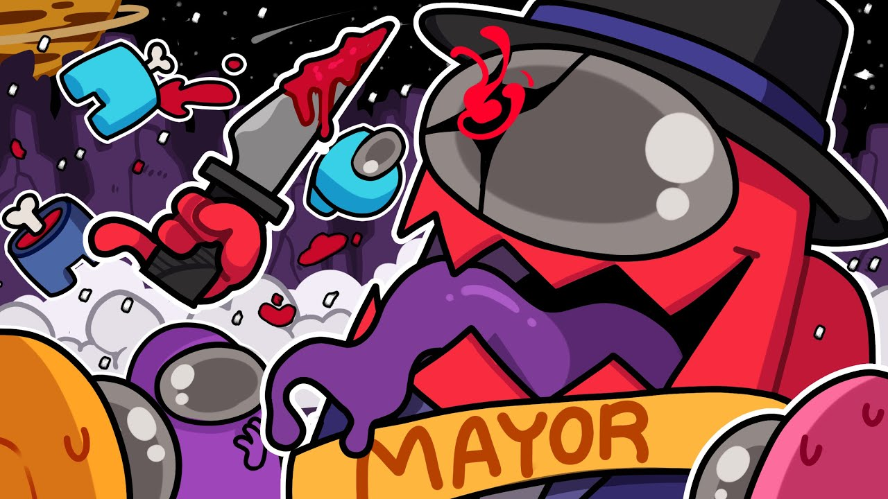THE GAME GLITCHED AND I WAS MAYOR IMPOSTOR! | Among Us (Town of Us Mod)