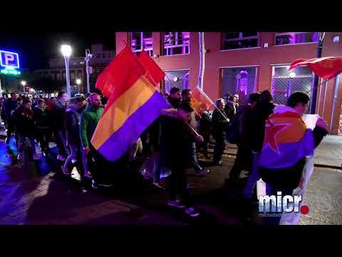 Manifestación antifascista en Ciudad Real