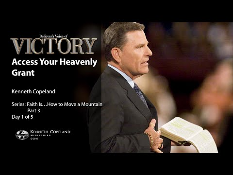 Access Your Heavenly Grant with Kenneth Copeland (Air Date 5-16-16)