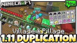 Minecraft Bedrock - 1.11 DUPLICATION GLITCH ( Anything )[Tutorial] MCPE / Xbox / Windows 10 / Switch
