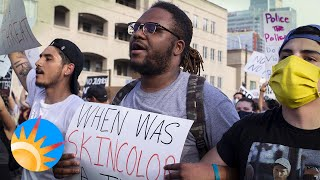 Protest in support of George Floyd in downtown Phoenix draws thousands and remains peaceful