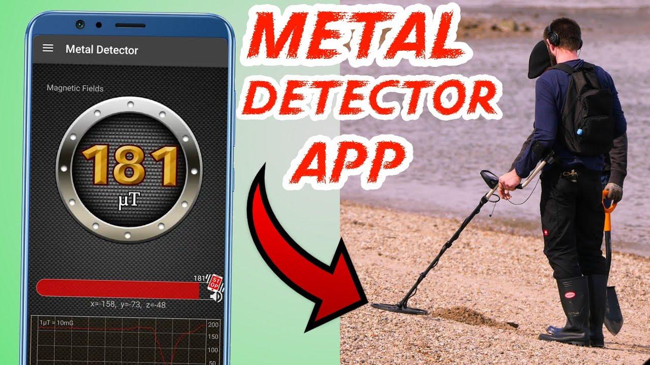 Smart phone Metal Detector app | Mobile Smart Tools collection