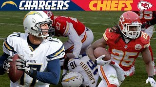 A Wild AFC West Shootout! (Chargers vs.  Chiefs, 2013) | NFL Vault Highlights