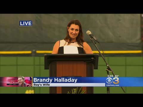 Roy Halladay's Wife, Brandy, Fights Tears Sharing Moments About Late Husband