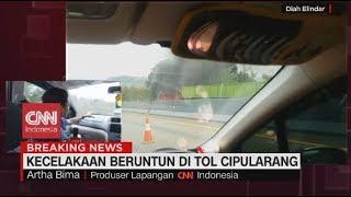 BREAKING NEWS: Kecelakaan Beruntun di Tol Cipularang, Sejumlah Kendaraan Terbakar