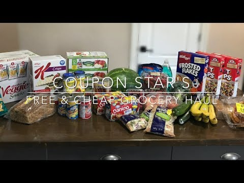 FREE & CHEAP GROCERY HAUL – June 2nd 2017 COUPONING IN CANADA!
