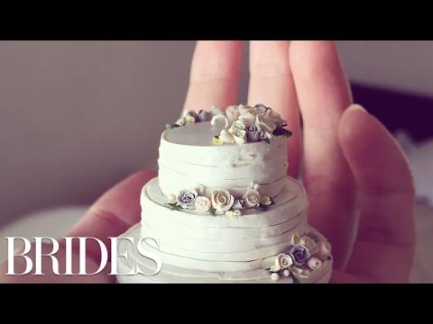 Teeny Tiny Wedding Cakes Make The Perfect Keepsake