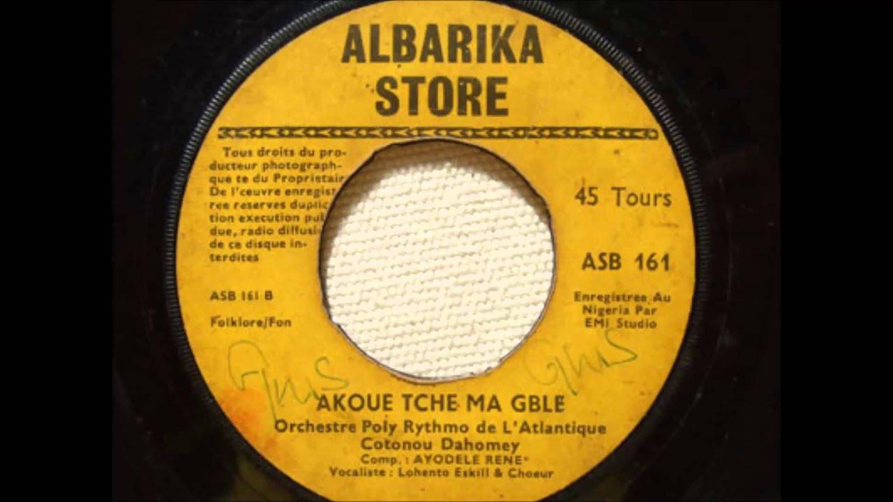 Orchestre Poly Rythmo De Cotonou Dahomey Gbeti Ma Djro Angelina II