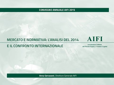 Anna  Gervasoni Direttore Generale AIFI-Milano, 20 marzo 2015