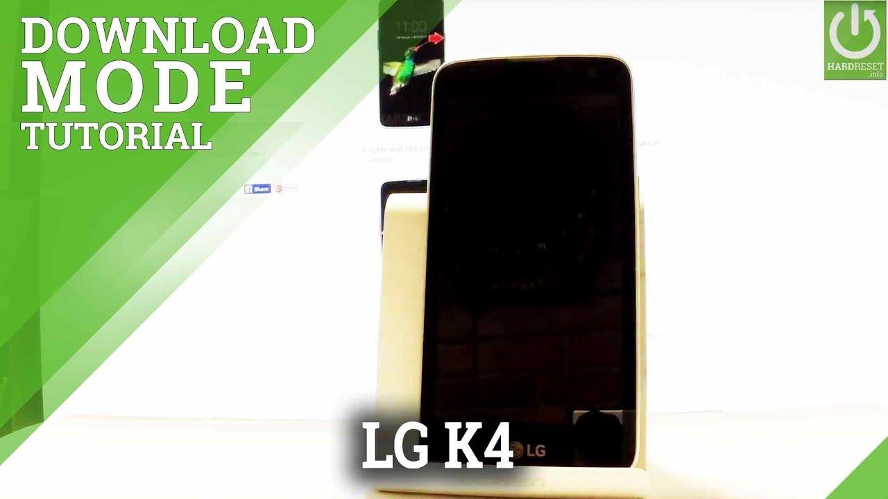 Download Mode LG K4 (2017) M160E - HardReset info