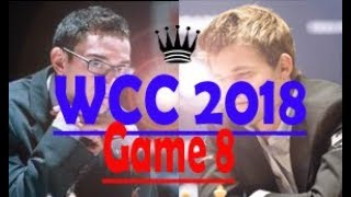 Caruana vs Carlsen Round 8 The Heat is On! World Chess Championship 2018