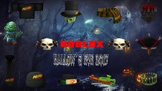 Roblox - Hallow's Eve 2017 (Prizes)