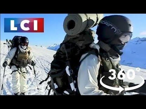 VIDÉO 360 – Défi à -30° avec les chasseurs alpins