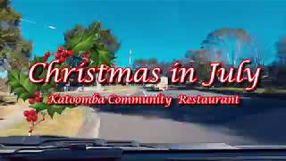 Christmas in July - Katoomba Community Restaurant (30 July 2018)