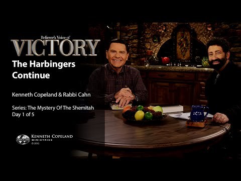 The Harbingers Continue with Kenneth Copeland and Jonathan Cahn (Air Date 2-1-16)