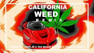 BeatBoy, Cornelio Vega, Tax Millie, Cyscö, Smoky, Heber - California Weed (Remix)