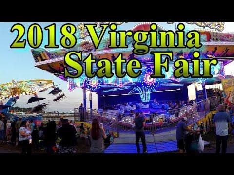 Virginia State Fair >> Virginia State Fair 2018 Youtube
