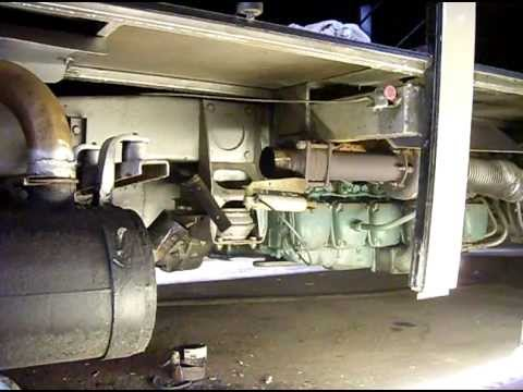 1986 Volvo B10m Coach Engine Thd100 Youtube