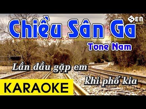 Chiều Sân Ga - Karaoke Beat Chuẩn