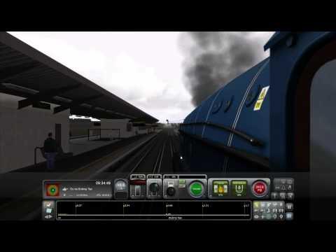 Train Simulator 2014 - London To Brighton - A4 Pacific Steam Train Tutorial |