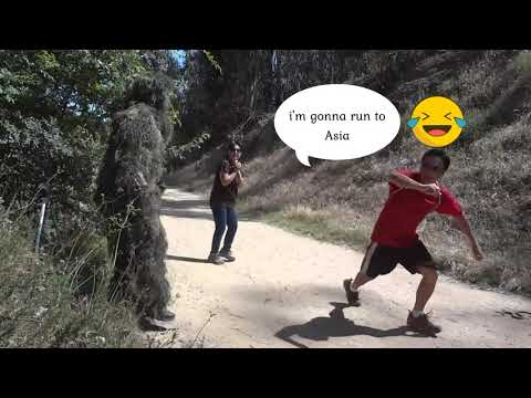 FUNNIEST BUSHMAN PRANK EVER