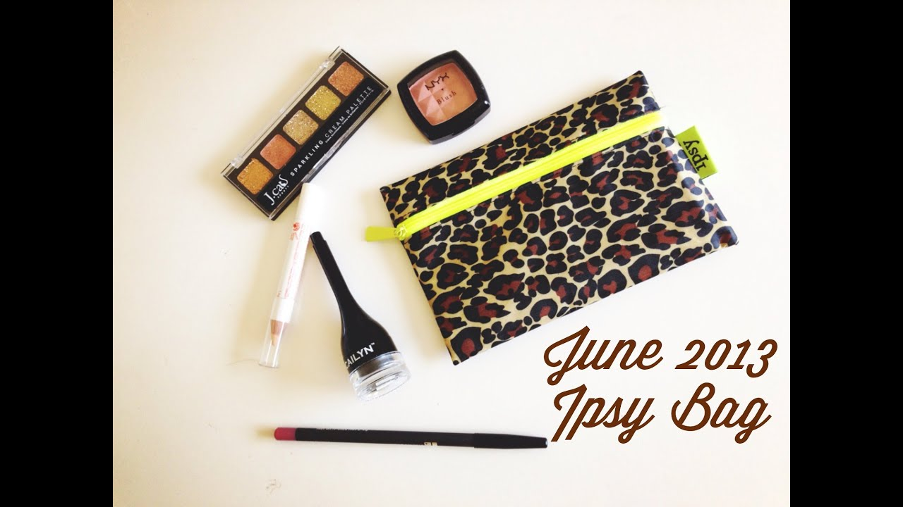 Unboxing- Ipsy Bag June 2013- First Impressions- Is It Worth It?