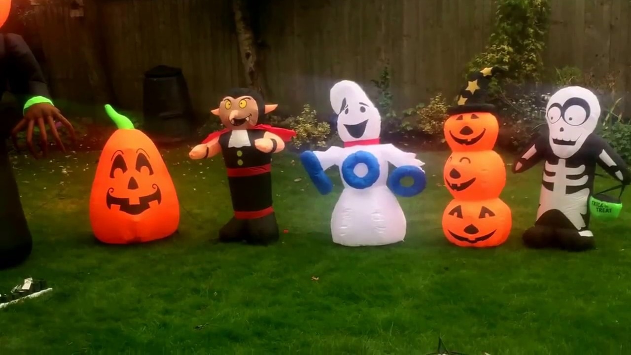 halloween inflatables 2017 trailer - youtube