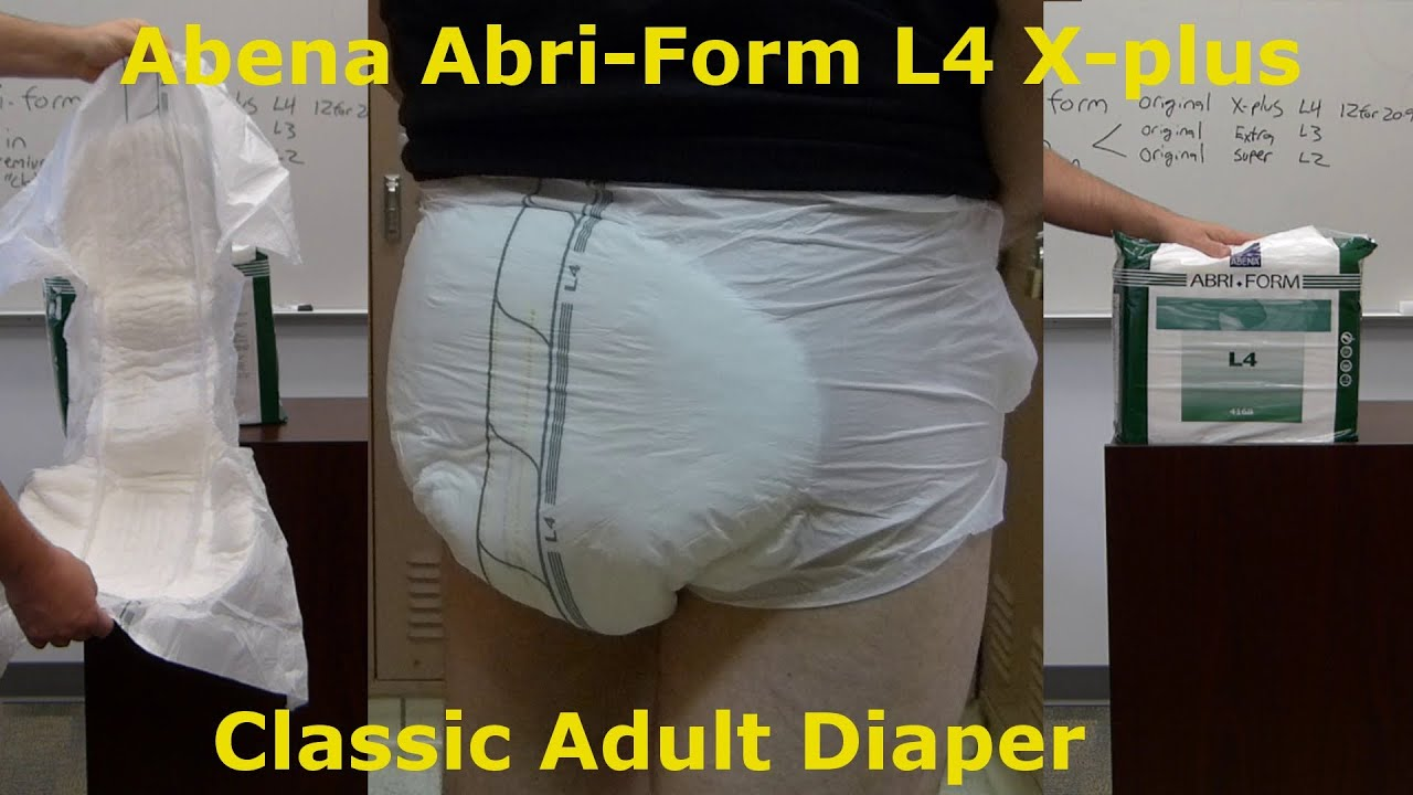 Abena adult diaper think, that