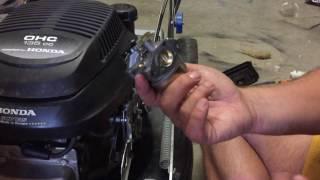 Changement carburateur Honda GCV