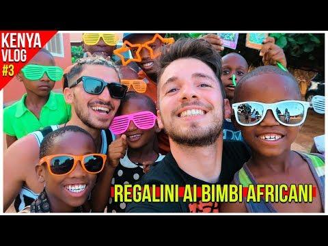 REGALINI ai BIMBI AFRICANI ❤️- Kenya VLOG #3 | Matt & Bise