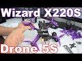 Eachine Wizard X220S En Español - DRONE 5S MÁS POTENTE DEL MERCADO 2018