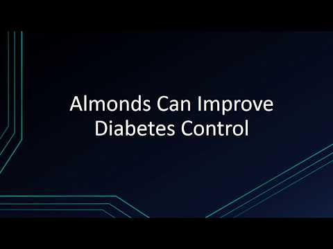 Almonds Can Improve Diabetes Control