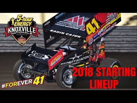 Starting Lineup for the 58th Annual Knoxville Nationals at KNOXVILLE RACEWAY