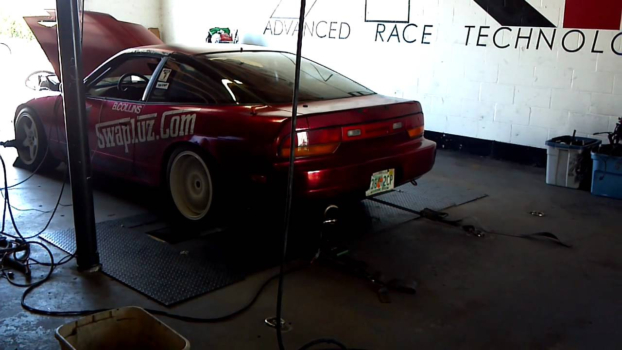 Supercharged 1UZFE with a Vortech V1 S-trim Dyno pull, Brett Collins