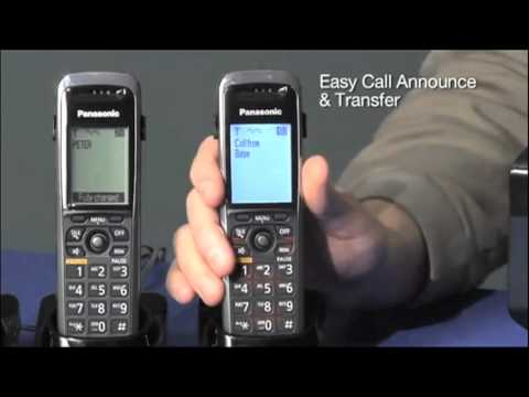 Panasonic SIP DECT Phone Overview Review and Demo