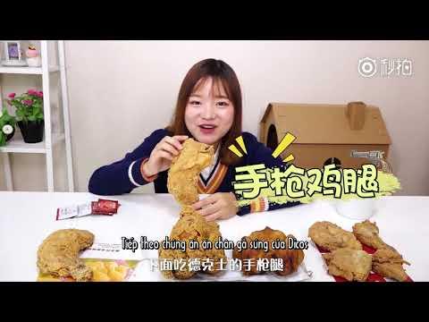Dư Đa Đa Review Các Hãng Gà Rán Của Trung Quôc_大胃王余多多炸鸡评测